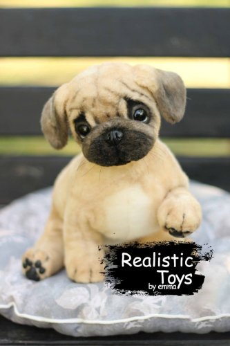 Emma Realistic Toys - Realistic Pug Puppy Barker