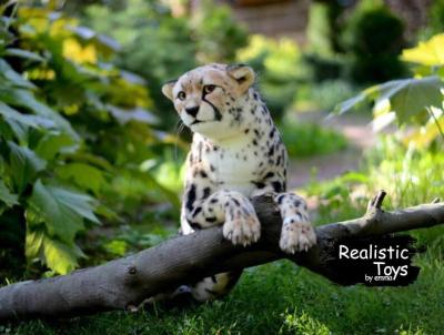 Emma Realistic Toys - Realistic & Lifelike Cheetah Cat Chloe