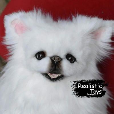 Emma Realistic Toys - Realistic Pekingese Puppy Coco