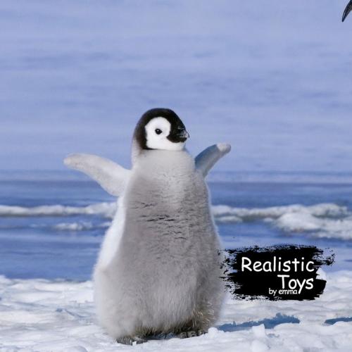 Emma Realistic Toys - Realistic & Lifelike Penguin Hadassah