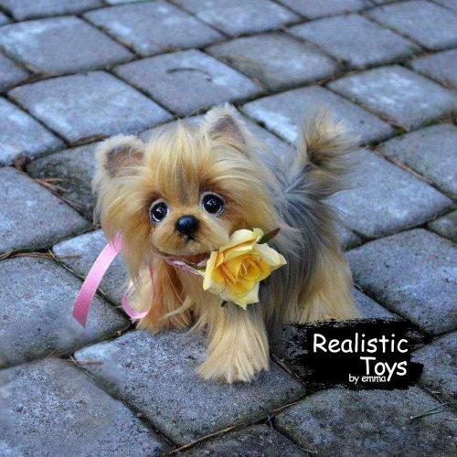 Emma Realistic Toys - Yorkie Dog Sofia
