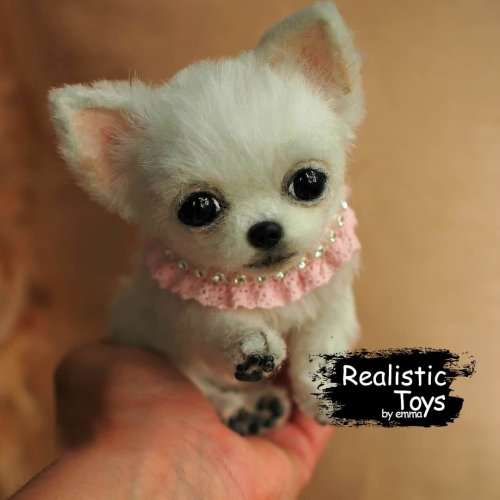 Emma Realistic Toys - Teacup Chihuahua Dog Juno