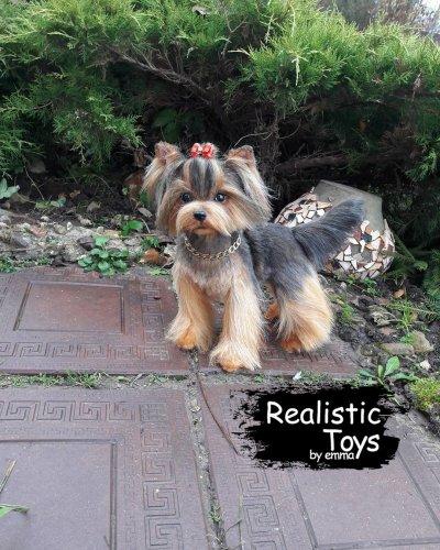 Emma Realistic Toys - Yorkie Dog Kanika