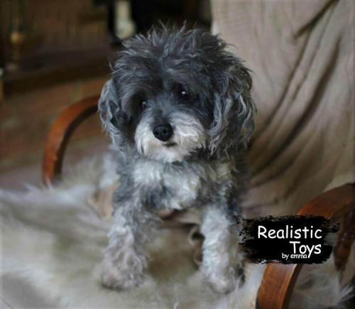 Emma Realistic Toys - Realistic & Lifelike Poodle Dog Tigger