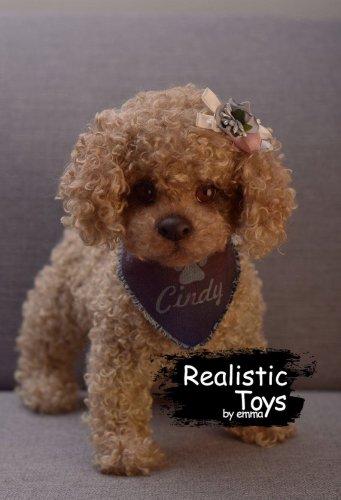 Emma Realistic Toys - Realistic & Lifelike Teddy Dog Cindy