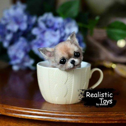 Emma Realistic Toys - Teacup Chihuahua Dog Mojo