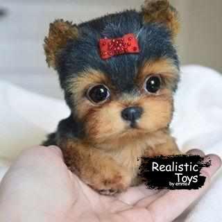 Emma Realistic Toys - Yorkie Dog Molly
