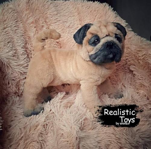 Emma Realistic Toys - Realistic Pug Puppy Rumor