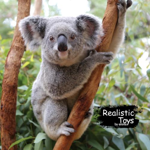 Emma Realistic Toys - Realistic & Lifelike Koala Micaela