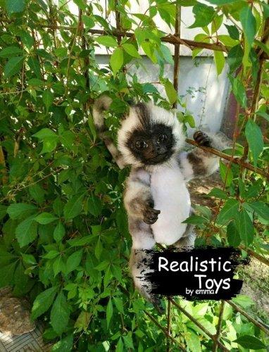 Emma Realistic Toys - Realistic & Lifelike Monkey Kenta