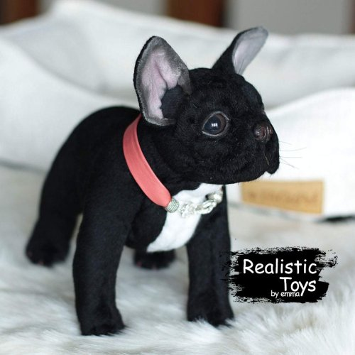 Emma Realistic Toys - Realistic & Lifelike French Bulldog Gatsby