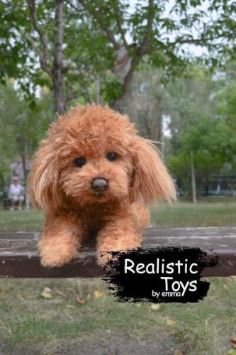 Emma Realistic Toys - Realistic & Lifelike Teddy Dog Jojo