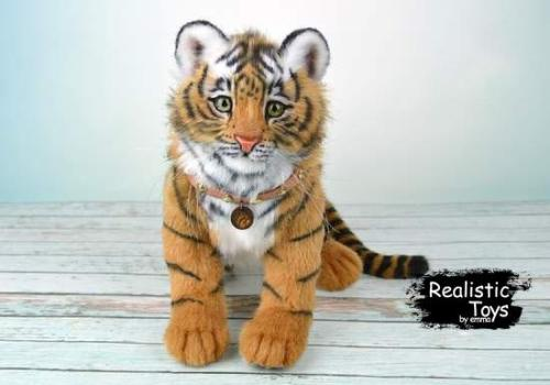 Emma Realistic Toys - Realistic Tiger Tabby