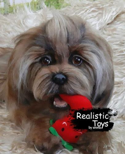 Emma Realistic Toys - Yorkie Dog Torry