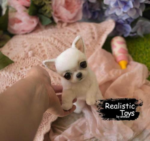 Emma Realistic Toys - Realistic Chihuahua Puppy Patches