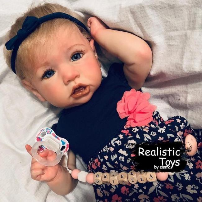 12''Little Cute Budey Handmade Reborn Baby Doll Girl