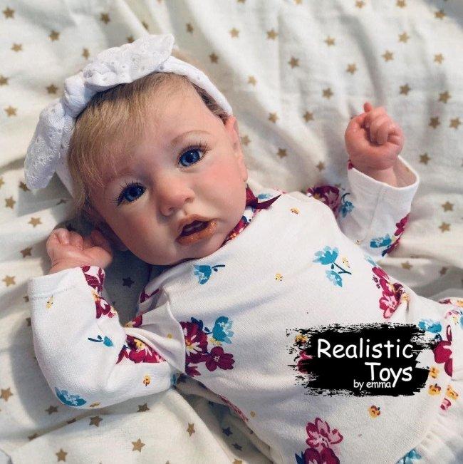 12''Little Debby Truly Reborn Baby Doll Girl