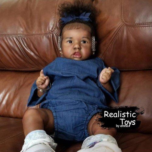 12'' Peggy Truly Reborn Baby Doll Girl