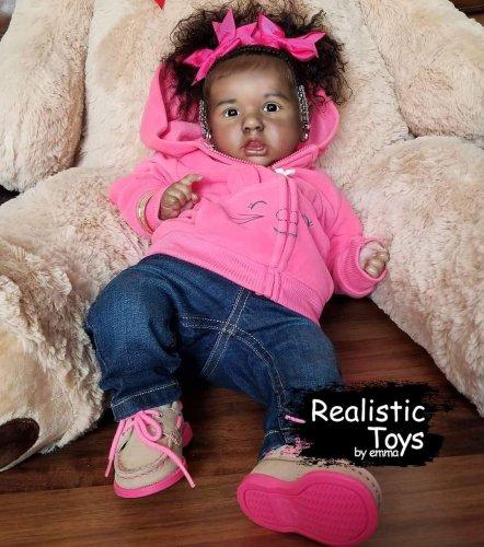 12''July Truly Reborn Baby Doll Girl