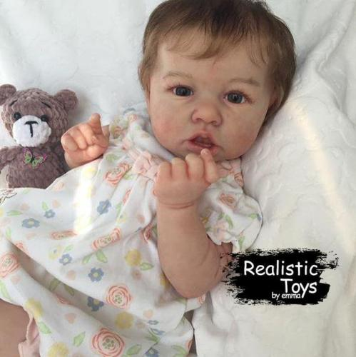 12''Little Cute Piper Reborn Baby Doll Girl Realistic Toys Gift Lover