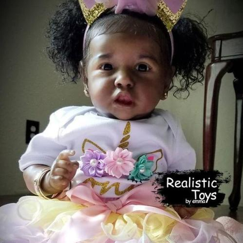 12''Little Linda Reborn Baby Doll Girl
