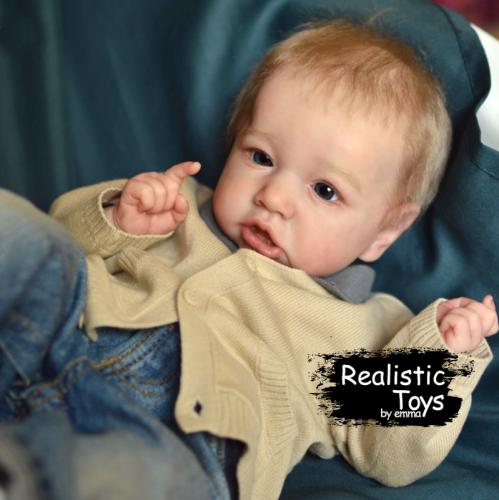 12''Little Cute Delilah Reborn Baby Doll Boy