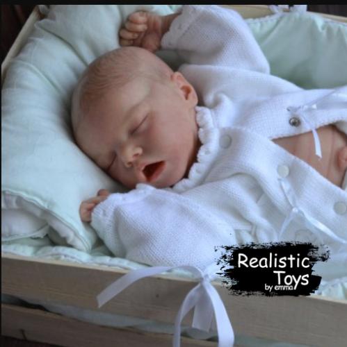 12''Real Lifelike Cute Sonny Reborn Baby Doll Girl