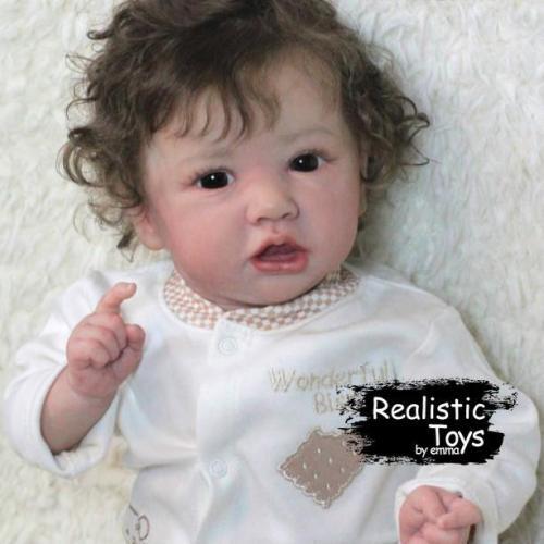 12'' Little Flora Reborn Baby Doll girl