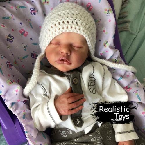 12''Little Stacy Real Lifelike Reborn Baby Doll Girl