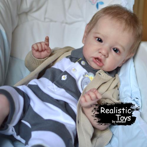 12''Little Cute Kaylee Reborn Baby Doll Boy