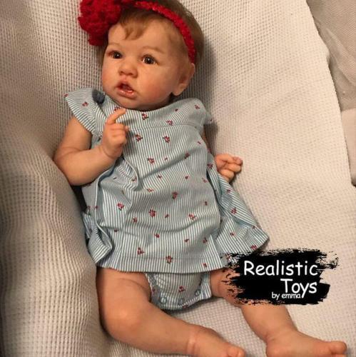 12'' Little Aaliyah Reborn Baby Doll Girl
