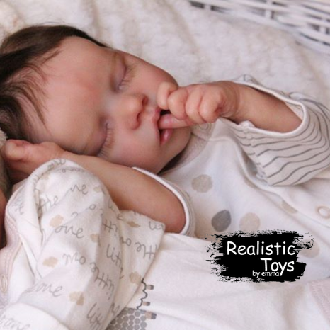 12''SoftTouch Real Lifelike Joshua Reborn Baby Doll Gril