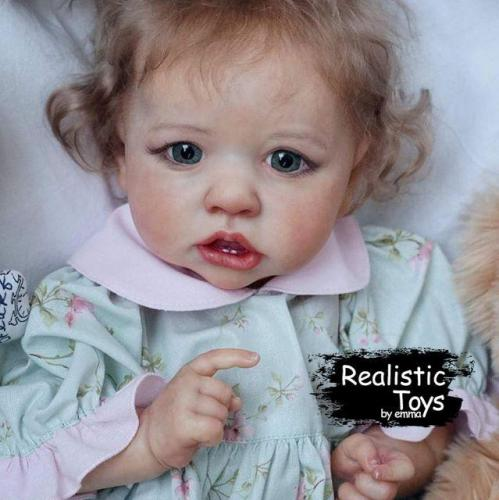 12'' Little Presley Reborn Baby Doll Girl