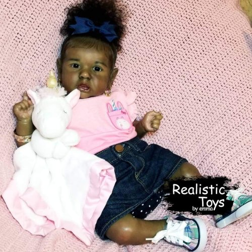 12''Real Life Reborn Baby Doll Girl Santo That Look Real