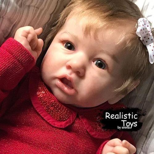 12''Little Cute Aylin Reborn Baby Doll