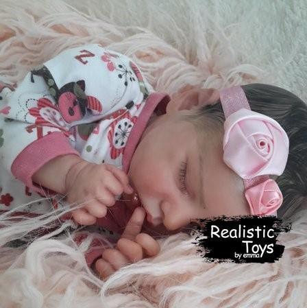 12''SoftTouch Real Lifelike Gabriela Reborn Baby Doll Girl