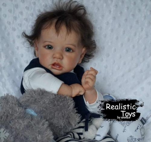 12''Little Valerie Reborn Baby Doll Girl