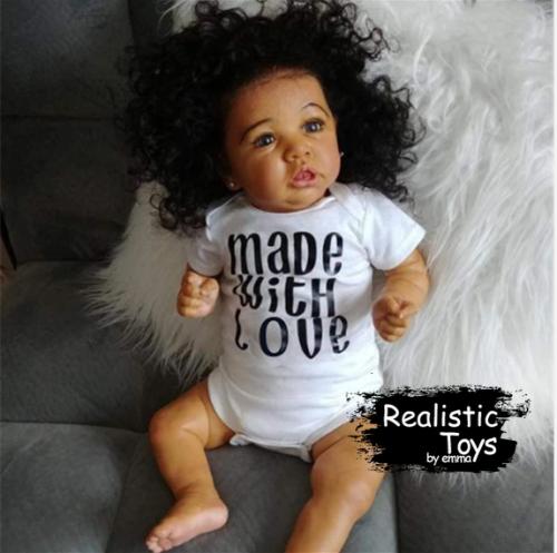 12'' Little Bess Reborn Baby Doll Girl, Handmade Realistic Baby Doll for Girls
