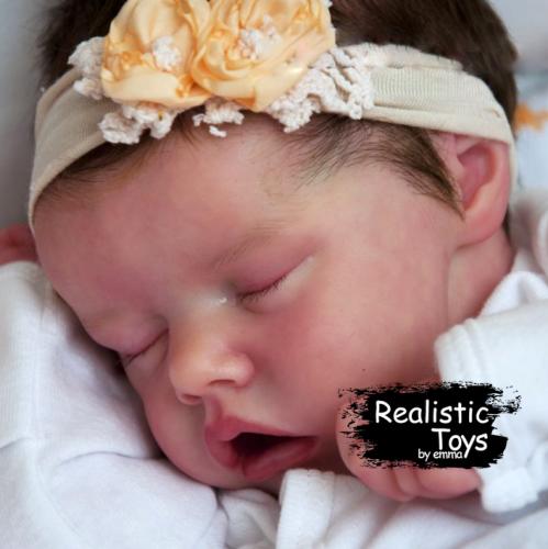 12''Lifelike Realistic Kara Reborn Baby Doll Girl