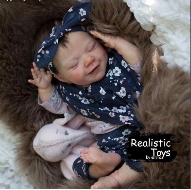 12''Little Kinley Reborn Baby Doll Girl