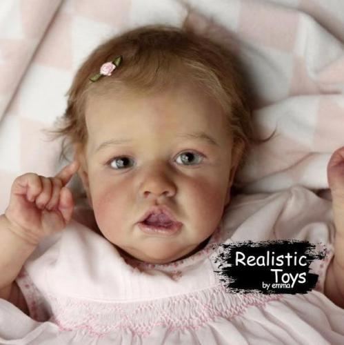 12''Little Kayla Reborn Baby Doll