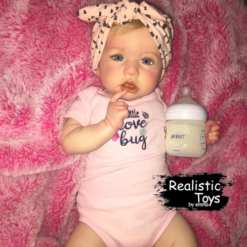 12''Little Blanco Truly Soft Reborn Baby Doll Girl