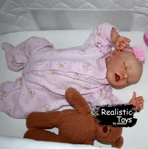12'' Real Lifelike Ada Reborn Baby Doll Girl