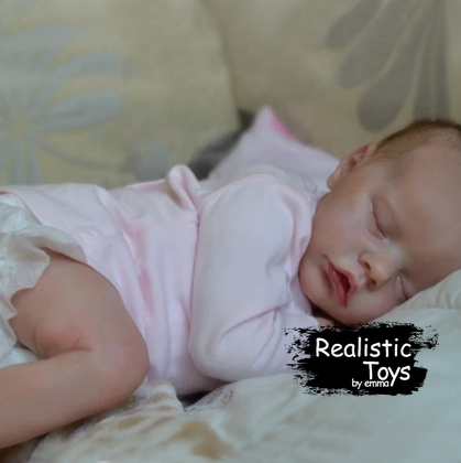 12''Realistic Sweet Reborn Baby Girl Doll Macy