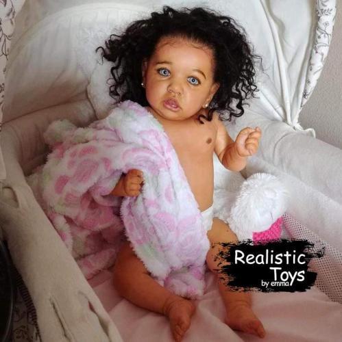 12'' Little Elsie Reborn Baby Doll Girl , Dolls That Look Real