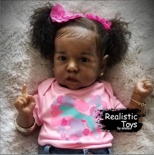 12''Little Jean Reborn Baby Doll Girl