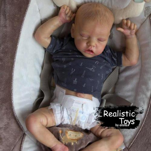 12''Real Lifelike Lea Reborn Baby Doll Girl