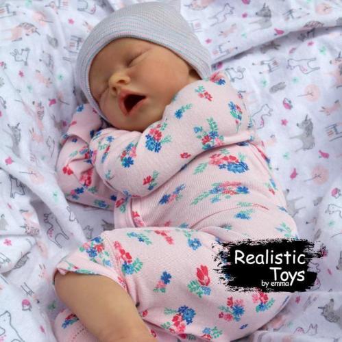 12''Real Lifelike Malia Reborn Baby Doll Girl