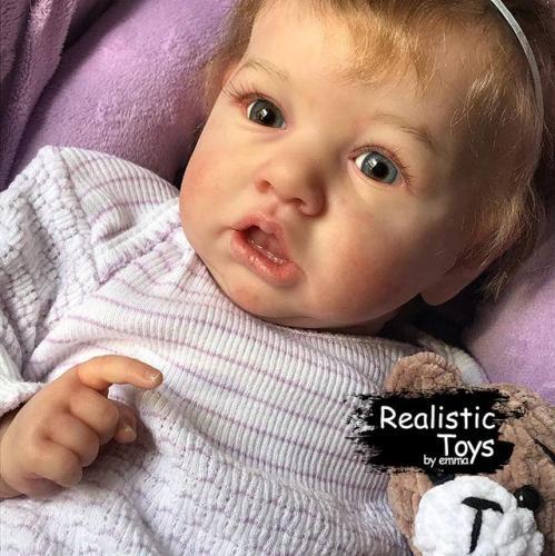 12''Reve Truly Reborn Baby Doll Girl