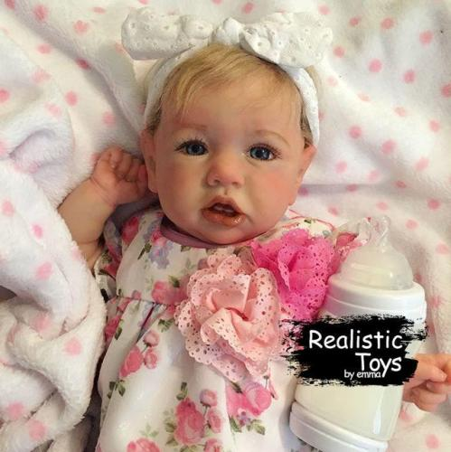 12''Little Cute Justice Reborn Baby Doll